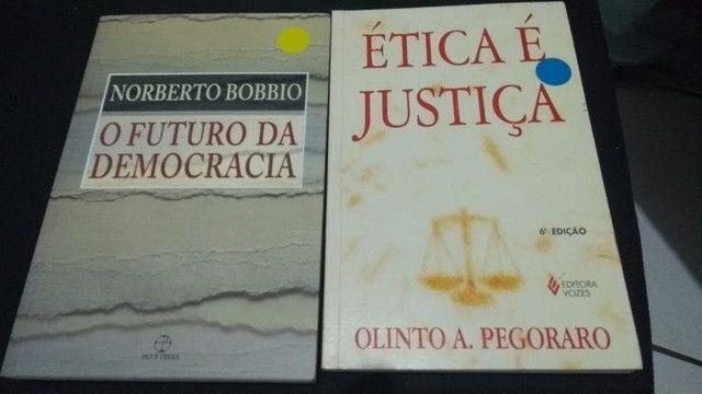 Lote De 4 Livros De Direito - Direito Falimentar Ética Justiça Criminal - Foto 2