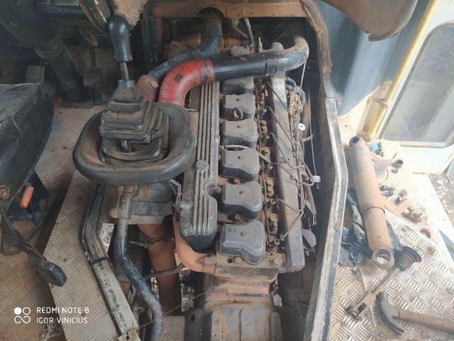 VENDO MOTOR 6CL MWM X10 TURBO E CAIXA DE MACHA DO FUSCÃO EATON 6 MACHA