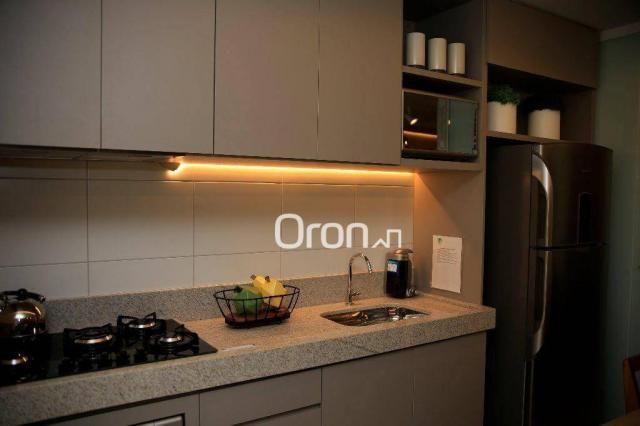 Apartamento com 3 dormitórios à venda, 94 m² por R$ 451.000,00 - Jardim Atlântico - Goiâni - Foto 7