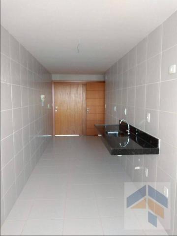 Apartamento com 3 dormitórios à venda, 112 m² por R$ 485.000,00 - Bessa - João Pessoa/PB - Foto 13