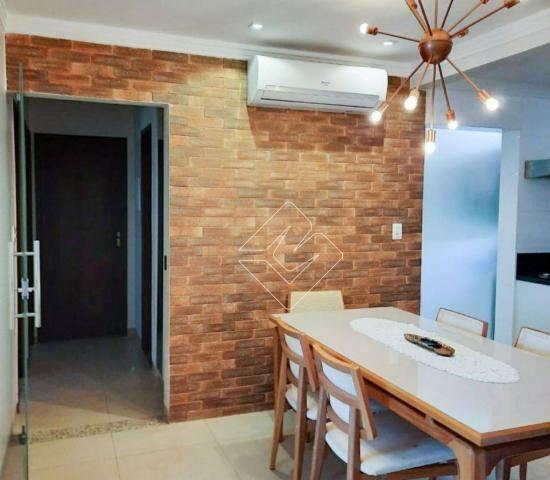 Apartamento com 3 dormitórios à venda, 85 m² por R$ 390.000 - Residencial Turmalinas - Vil - Foto 2