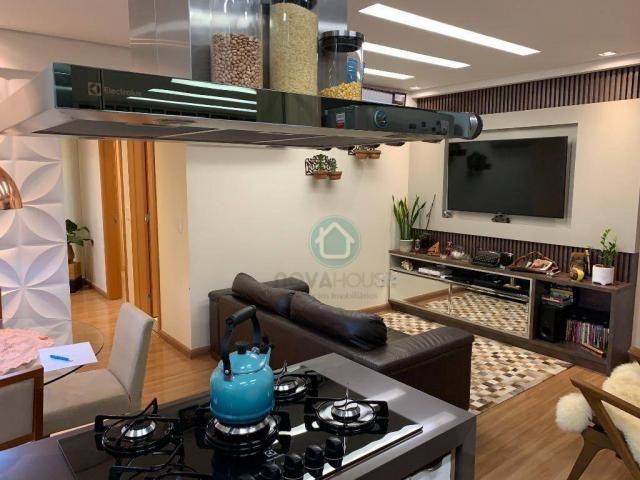 Apartamento com 3 dormitórios à venda, 73 m² por R$ 545.000,00 - Monte Castelo - Campo Gra - Foto 15