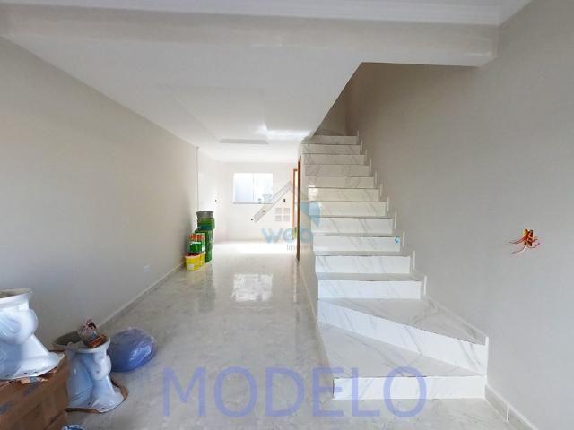 Sobrado à venda com 2 quartos, 72,99 m², terraço, próximo ao Santuário da Divina Misericór - Foto 6