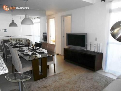 Apartamento à venda com 3 dormitórios em Conjunto califórnia, Belo horizonte cod:577949 - Foto 3
