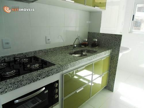 Apartamento à venda com 3 dormitórios em Conjunto califórnia, Belo horizonte cod:577949 - Foto 16