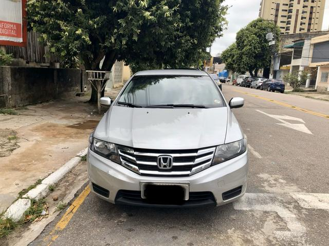 Honda City LX 1.5 Aut Prata