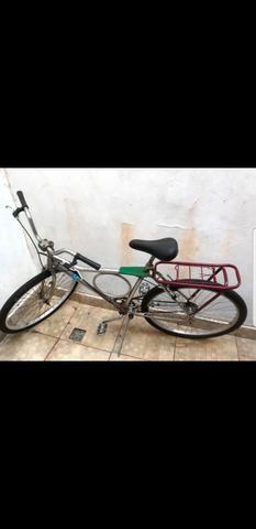 Bicicleta Monark cromada