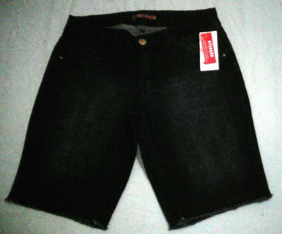 Bermuda jeans c/ elastano Yessica