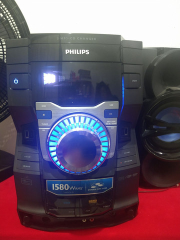 Som Philips modelo FWM9000X/78 1580 wrms do. Para retirada de peças - Foto 2