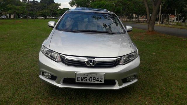 Honda Civic EXS Automatico Top de Linha + Teto Solar 2012 - Foto 6