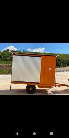 Container refeitório com dois banheiros  - Foto 6