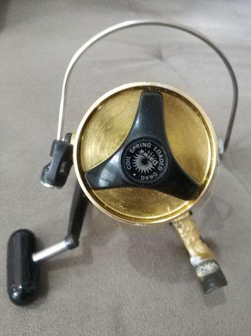 Molinete Daiwa GS 9 Gold ( usado). - Foto 2