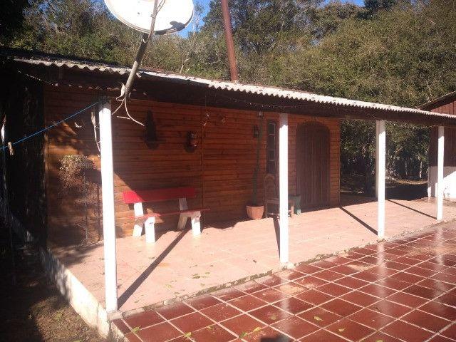 Velleda oferece sítio 3200 m², completo, casa, galpão, piscina, ac troca - Foto 13
