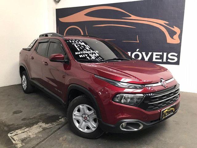 Fiat-Toro freedom 1.8 aut+Gnv Financiamos sem comprovação de renda