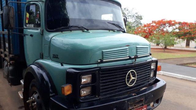 Caminhão Mercedes 15/17 Boiadeiro - Foto 8