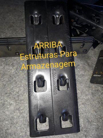 Garras para Longarinas Porta Palete  - Foto 2