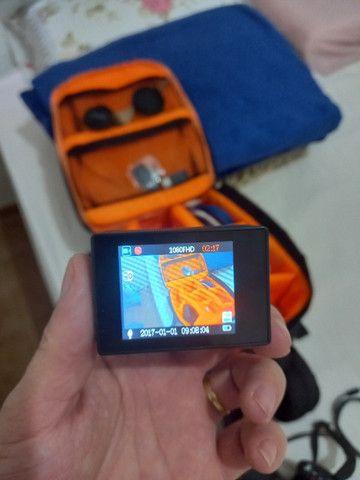 Câmera Sport com todos Acessórios - Foto 4