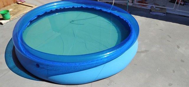 Vendo piscinão inflável - Foto 6