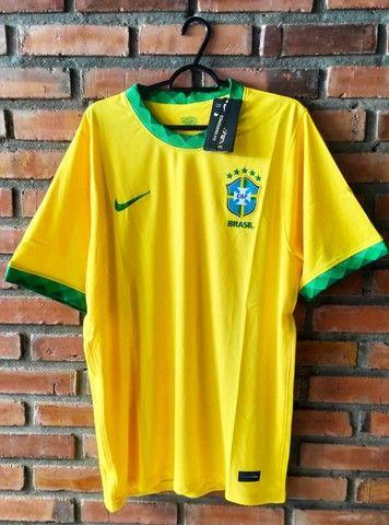 Camisa Seleção Brasileira -  Torcedor  - 2021