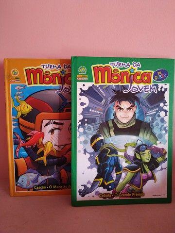 2 Livros da Coleção Turma da Mônica Jovem em Cores - Foto 5