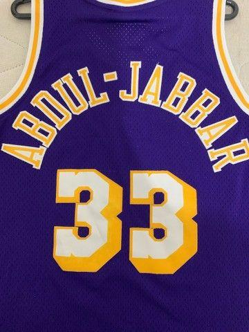 Camisa Lakers- Retrô  - Foto 6