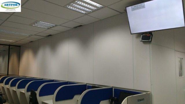 Divisórias para Call Center, Divisões de Ambientes Provisórios em Divisórias Eucatex. - Foto 3