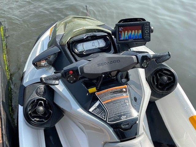 Jet Ski Sea Doo Fish Pro 2019 único dono com 101h - Foto 4