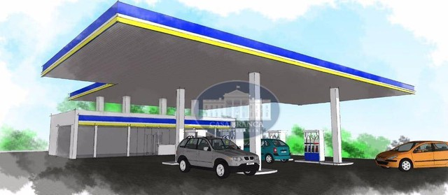 Prédio comercial para Posto de combustível, Centro, Andradina - PR0037.