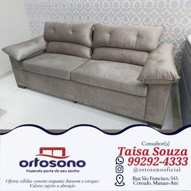 sofá sofá && sofá assento fixo
