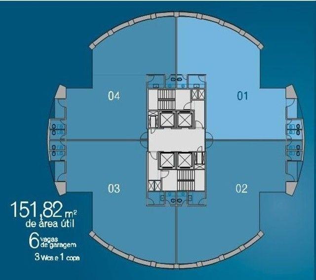 Sala para alugar, 151 m² por R$ 10.253/mês - Boa Viagem - Recife/PE - Foto 2