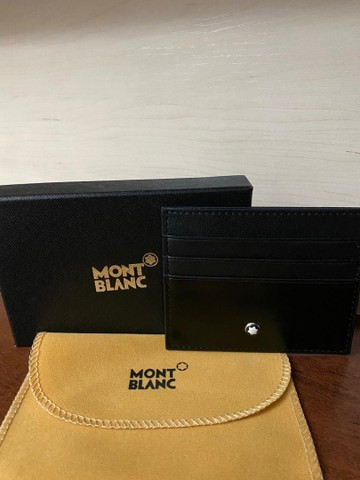 Porta cartão Mont Blanc