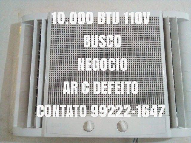 Parcelo No Cartão 5x Economico Ar Condicionado 10.000 Btu 110V Entrego Gratis