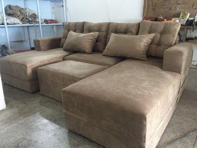 Sofá de luxo diretamente da Fábrica
