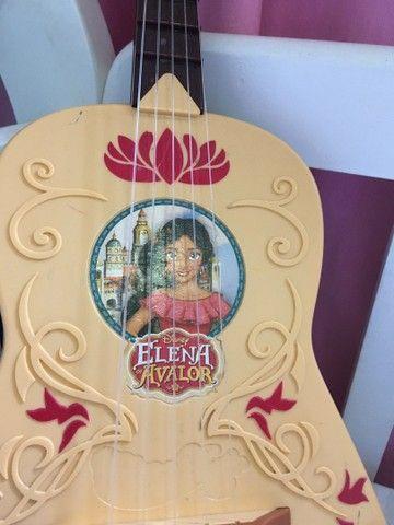 Violão  grande Elena de Avalor e bonecas Estrela  - Foto 2