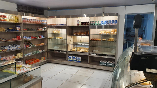 Espetacular padaria na zona norte