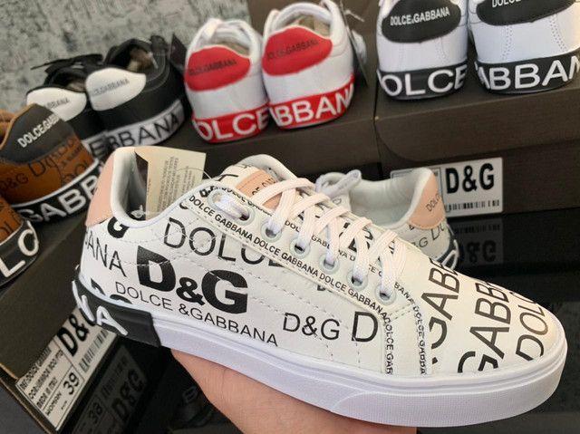 Tênis Dolce Gabbana Atacado - Foto 2