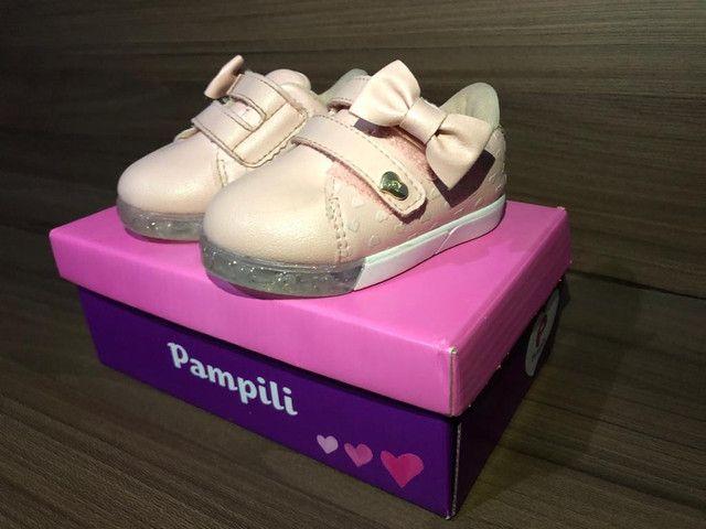 Tênis Pampili com luzes