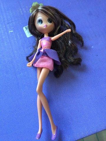 Barbie Janessa Tumbelina  borboleta  pets - Foto 2