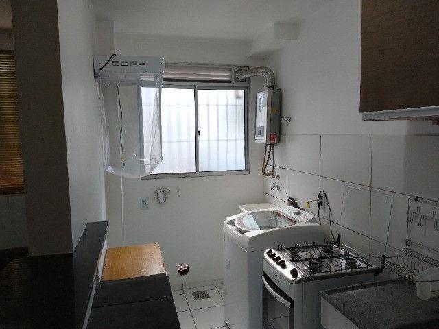 Vendo apartamento semimobiliado térreo 2 quartos - Foto 11