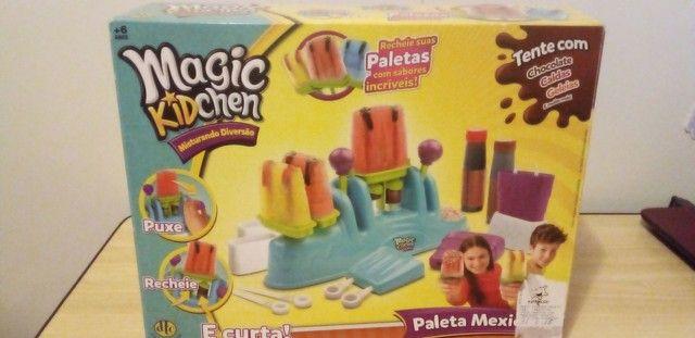 Maquina de picole Magic Kidchen Paletas mexicanas