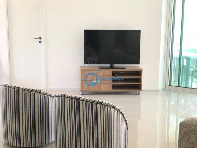 Apartamento com 3 dormitórios à venda, 110 m² por R$ 530.000 - Porto das Dunas - Aquiraz/C - Foto 4