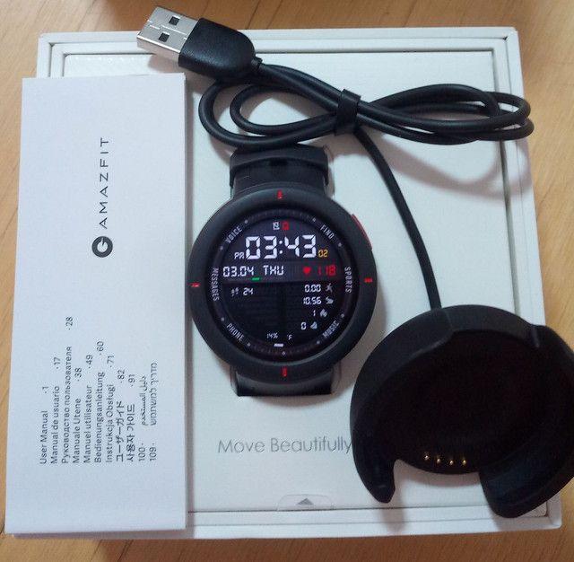 Smartwatch Amazfit Verge A1811 - grafite - Foto 2