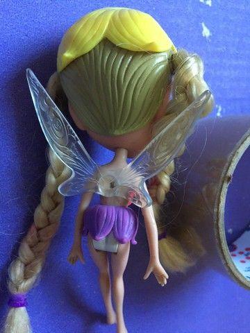 Barbie Janessa Tumbelina  borboleta  pets - Foto 5