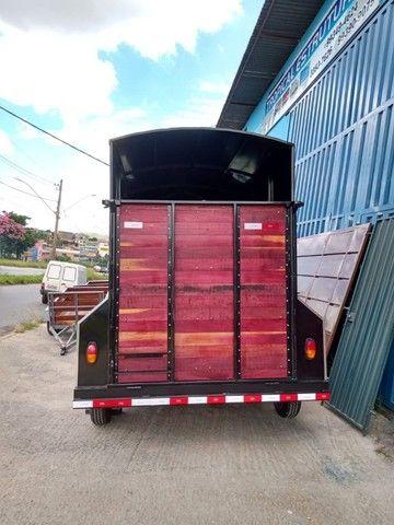 Carreta para 2 cavalos nova R$ 10.500,00 - Foto 4