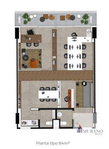 Sala/Conjunto para venda com 42 metros quadrados em Valongo - Santos - SP - Foto 10