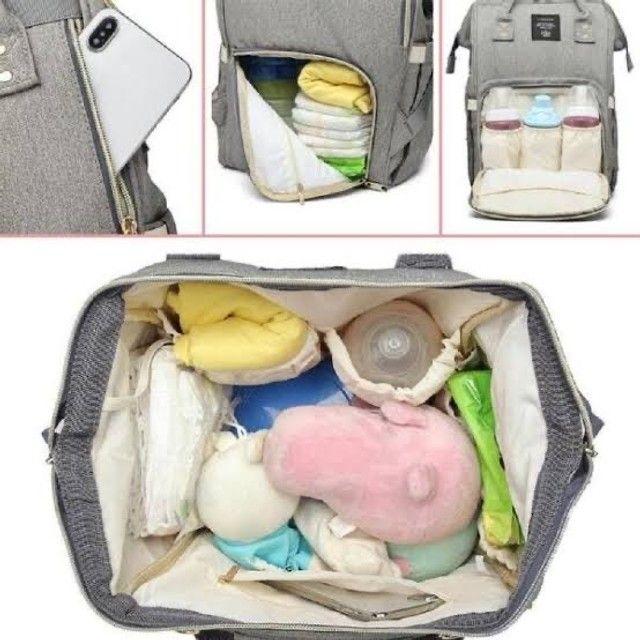 Bolsa maternidade lequeen original!!!! - Foto 2