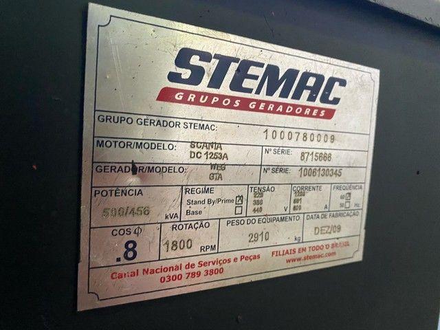 Gerador Stemac de 500 kVA   Comando digital  - Foto 3