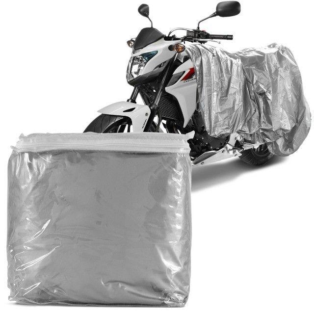 Promoção! Capa para cobrir moto, P,M,G  ? Entrega grátis - Foto 2