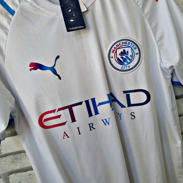 Camisa de time DRY-FIT de boa qualidade do P ao GG - Foto 2
