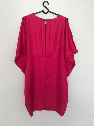 vestido Coven rosa tamanho M